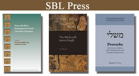 SBL Press-new books