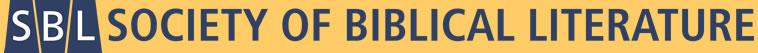 SBL Newsletter